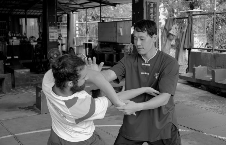 Luohhantang Zhuang Kaijun y David Martin